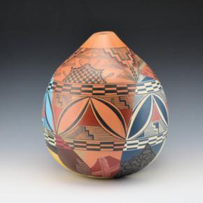"""Namingha, Les – """"Blossom"""" Reconstructed Jar"""