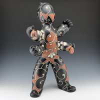 "Holt, Lisa & Harlan Reano – Four Arm ""Pueblo Super Hero"" Figure"
