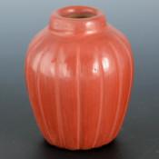 Baca, Alvin – Miniature 16 Rib Melon Rib Jar