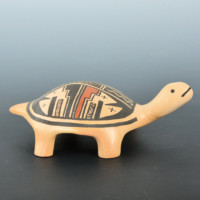 """Nampeyo, Candice """"Candy"""" – Turtle with Traditional Designs"""