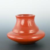 Ebelacker, Jason – Red  Water Jar with Bear Paws
