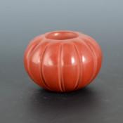 Baca, Leona – Miniature 12 Rib Melon Bowl