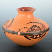 Ami, Loren – Jar with Fox Design