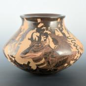 Naranjo, Luciano – Jar with Antelope, Deer & Buffalo Dancers