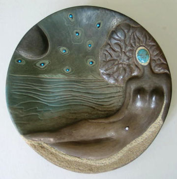 3. Mermaid plate