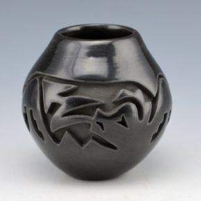 Velarde, Carol – Carved Jar with Avanyu