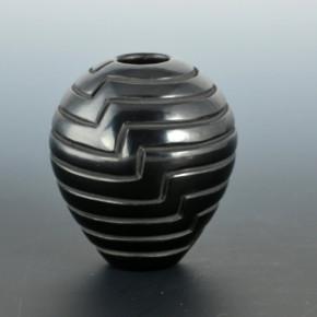 Chavarria, Denise – Lightning Rib Melon jar