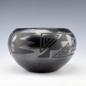 Sanchez, Desideria – Bowl with Cloud & Wind Designs (1920's)