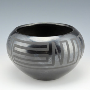 Sanchez, Desideria – Bowl with Cloud & Wind Designs