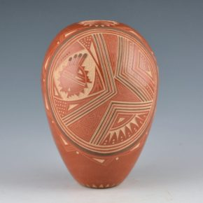 Fragua, Glendora – Seedpot with Sun Design (1987)