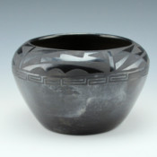Pena, Juanita – Bowl with Cloud, Rain Lightning and Eternity Band