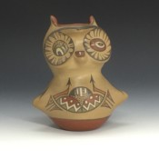 Gutierrez, Margaret & Luther – Owl Figure
