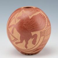 Fragua, Glendora – Seedpot with Unicorn (1983)