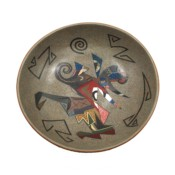 Namingha, Les – Open Bowl with Sikyatki Birds