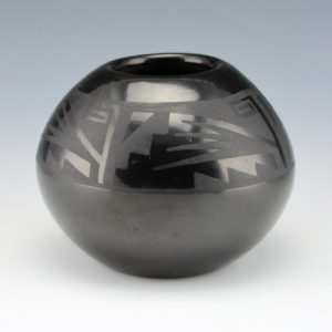 Gutierrez, Margaret Lou -Bowl with Wind Designs