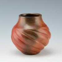 Manymules, Samuel  – Small Swirl Melon Jar