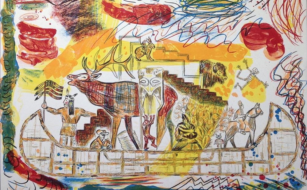 5. Trade Canoe A Western Fantasy