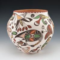 Lewis-Garcia, Diane – Polychrome Jar with Birds