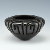 Garcia, Effie  – Bowl with Bird Wing Design