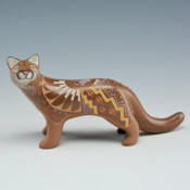 Moquino, Jennifer – Mountain Lion Clay Figure