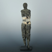 "Fields, Anita – ""Being Human"" Clay Figure"