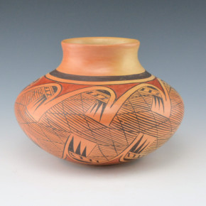 Nampeyo, Leah  – Jar with Migration Pattern