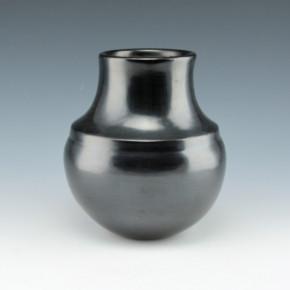 Garcia, Tina – Long Neck Water Jar with Rainbow Ridge