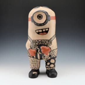 """Reano, Dominique – """"Pueblo Minion"""" Figure"""