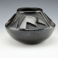 Aguilar, Rosalie -Bowl with Bird Wing Designs