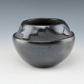 Aguilar, Rosalie -Bowl with  Cloud and Rain Designs