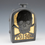 "Garcia, Tammy – ""Poison"" Clay Bottle Style Jar"
