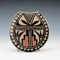 Aguilar, Joe – Polychrome Tile with Feather Design