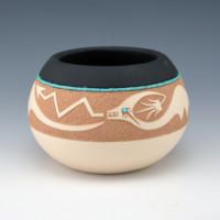 Gonzales, John – Bowl with Avanyu (2003)