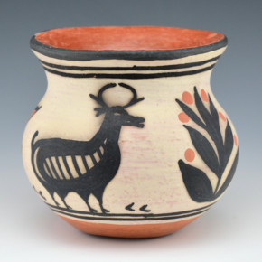 Melchor – Jar with Deer Family