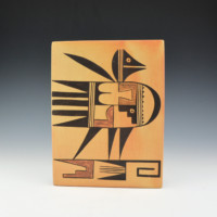 Adams, Sadie – Large Tile with Bird