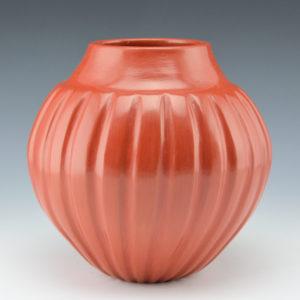 Naranjo-Garcia, Sharon – Melon Jar with 24 Ribs
