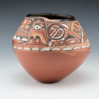 Folwell, Susan – Northwest Coast & Pueblo Design Bowl