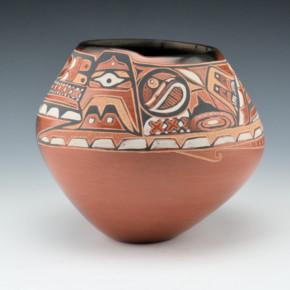 Folwell, Susan – Northwest Coast & Pueblo Design Bowl