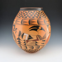 Ami, Dorothy – Large Jar with Hopi Birds