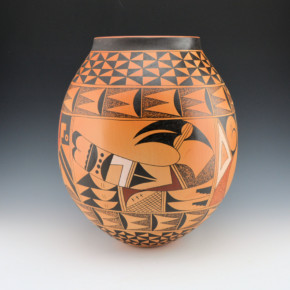 Ami, Dorothy – Large Jar Hopi Birds