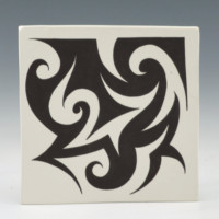 Lewis, Eric – Tile with Stylized Birds