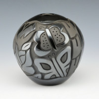 Begay, Jr., Harrison – Bowl with Butterflies and Dragonflies