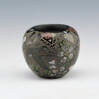 Moquino, Jennifer – Miniature Bowl with Butterflies & Hummingbirds