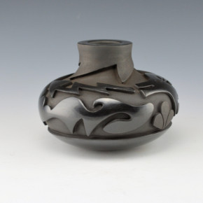 Cain, Linda – Carved Jar with Avanyu