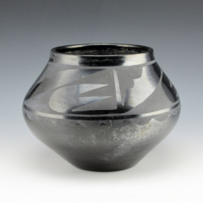 Roybal, Tonita – Jar with Rain and Cloud Design (1920's)