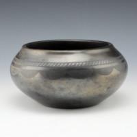 Roybal, Tonita – Wide Bowl with Cloud Design (1920's)