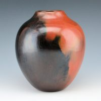 Cling, Alice – Wide Jar with Fired Clouds