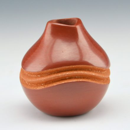 Toya, Dominique – Red & Mica Melon Ridge Mini Jar