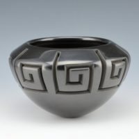 Garcia, Effie – Large Bowl with Eternity Design