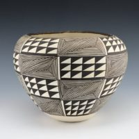 Lewis, Lucy – Bowl with Fineline and Mountain Designs